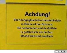 Achdung ! | DEBESTE.de, Lustige Bilder, Sprüche, Witze und Videos
