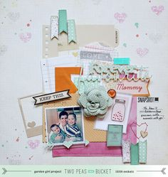 by Lilith Eeckels  - Lilith's scrapbooking venture