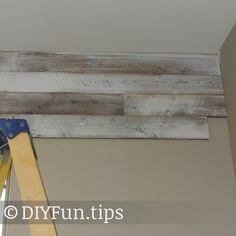 Installing wood planks