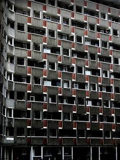 High Rise by Bravuraimages Facade Architecture, Beautiful Architecture, Le Corbusier, Chandigarh, Council Estate, Tower Hamlets, East End London, Tower Block, Modernisme