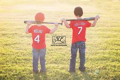 On location sibling boys baseball themed photography session! https://www.facebook.com/pages/Mandy-Lee-Photography/113937515377935