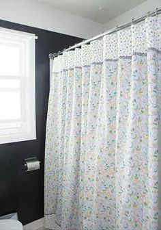 Blooming Shower Curtain Pattern Download