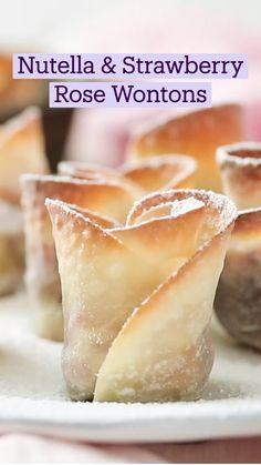 Fun Baking Recipes, Sweet Recipes, Cooking Recipes, Köstliche Desserts, Delicious Desserts, Yummy Food, Desert Recipes, Diy Food, Nutella