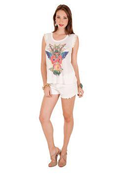 12332 - Blusa | 05545 - Shorts