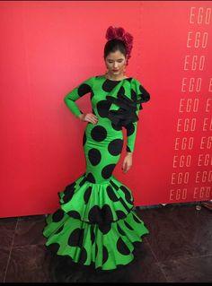 flamenca Glam Dresses, Nice Dresses, Fashion Dresses, Bandhini Saree, Eid Outfits, Frou Frou, Ballroom Dress, African Dress, Boho Fashion