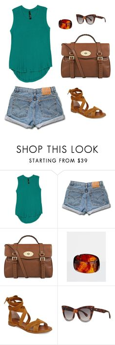 """Untitled #4784"" by ladyhysteria ❤ liked on Polyvore featuring Melissa McCarthy Seven7, Levi's, Mulberry, Kenneth Jay Lane, Louise et Cie, Fendi and plus size clothing"