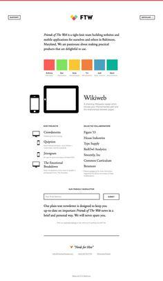 web制作会社のサイト