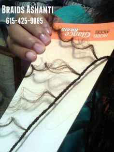 Individual/ micro mini tree braids. What goes into the process.