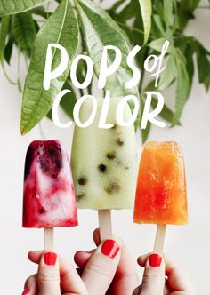 popsicles the way i like them: spiked // alle dagen honger