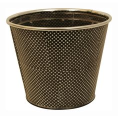 Wald Imports Polka Dot Pot Covers - Set of 3, and White