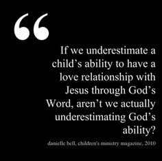 kidmin, discipleship, kids and Jesus, God's Word