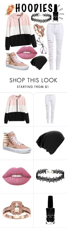 """""""Happy New Years!!!"""" by crazy-otaku ❤ liked on Polyvore featuring Vans, Azature, Old Navy and Hoodies"""