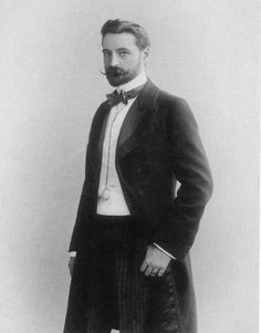 Prince Sergei Volkonsky. I suspect he would've loved my Expedition Strength Moustache Wax.