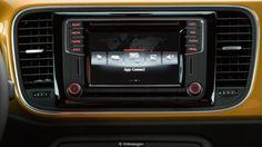 beetle dune uk sandstone yellow dashboard   BBC - Autos - Volkswagen channels its hot-rod history
