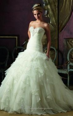 20 vestidos elegantes do casamento Strapless por markovski.aleksandar