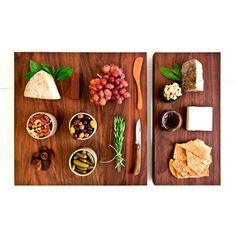 Black Walnut Kitchen Board made by Hudson Made NY Cheese Table, Rotisserie Grill, Walnut Kitchen, Wooden Food, Kitchen Board, Kitchen Tools, Serving Board, Tapas, Gift Guide