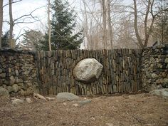 stone patterns, Andy Goldsworthy