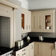 Greentree Kitchens have a fabulous showroom near Llandudno, Conwy & Anglesey in North Wales. Traditional Kitchen Inspiration, Modern Traditional, Traditional Kitchens, New Kitchen, The Help, Free Design, Kitchen Cabinets, Frame, Home Decor
