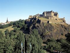 Edinburgh Castle, the city's most recognizable landmark and oldest building, offers stunning views over the city below from its battlements, and the structures and exhibits within the castle tell a fascinating story of Scotland's military history.