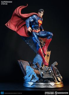 DC Comics Superman Polystone Statue by Prime 1 Studio | Sideshow Collectibles - Visit to grab an amazing super hero shirt now on sale!