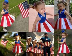 USO Girl Costume inspired by the ones in the movie Captain America.