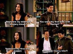 """E, por fim, quando Chandler perguntou: """"Em que casamento eu me meti?""""   24 momentos do romance de Monica e Chandler que vão tocar seu coração"""