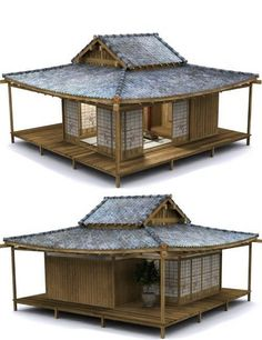 Japanese Tea Garden & Tea House bundle | Environments and Props for Daz Studio and Poser