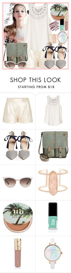 """""""Summer"""" by militiabunny on Polyvore featuring Diane Von Furstenberg, RVCA, J.Crew, Patricia Nash, Gucci, Kendra Scott, Urban Decay, Jin Soon and Smith & Cult"""