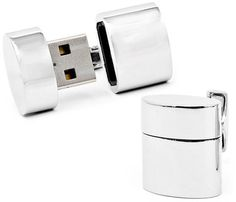 Yes Please. 2GB USB Cuff Links and when you plug them into your computer, they are a wifi hotspot. So sick.