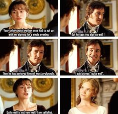 The only time Mr. Darcy smiled!!!!!!!! It was a magical moment, he is so handsome and he has such a beautiful smile!!!!!!!!!!!!!:)