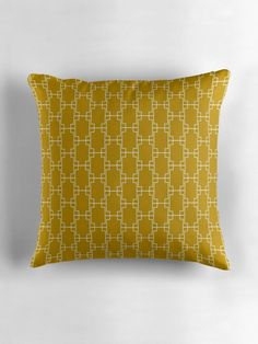 Yellow cushion, Decorative cushions, Geometric cushion, Scandinavian cushion, Modern pillow, Accent pillow, Pillow cover, Mustard cushion by ShadowbrightLamps on Etsy https://www.etsy.com/uk/listing/600087283/yellow-cushion-decorative-cushions