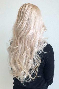 Baby Blonde Hair, White Blonde Hair, Blonde Hair Looks, Light Blonde Hair, Platinum Blonde Hair, Long White Hair, Blonde Wig, Ash Blonde, Bleached Blonde Hair