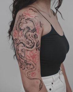 20 Fierce Dragon Tattoo Designs for Women 20 Fierce Dragon Tattoo Designs for Women,Tattoos Japanese Dragon Tattoo Related posts:White henna designs easy & beautiful White henna designs easy & beau. Unique Tattoo Designs, Dragon Tattoo Designs, Tattoo Designs For Women, Unique Tattoos, Small Tattoos, Feminine Tattoos, Pretty Tattoos, Back Tattoos For Women, Design Your Tattoo