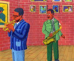 Diz and Charlie by Gaurab Thakali