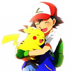 Such a sweet picture. Pikachu is loved.