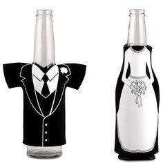 Wedding Party Beer Bottle Koozie - Weddingstar