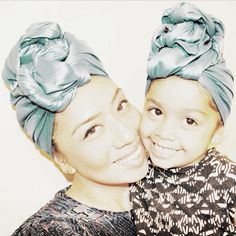 Super cute!! I love these matching mommy ~daughter headwraps❤️