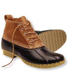 "Women's Bean Boots by L.L.Bean®, 6"" - $89.00, Tan/Brown, size 11 (Wide)"
