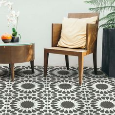 Our Cordelia Tile stencil design is a beautiful feminine tile pattern, perfect for bath floors. It was inspired and designed based on geometric Moroccan design of the past which is so popular today. http://www.cuttingedgestencils.com/cordelia-tile-stencil-moroccan-design-cement-tiles.html