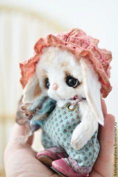 Мишки Тедди ручной работы: Зайка Адель. Handmade.