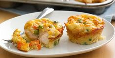 Impossibly Easy Mini Chicken Pot Pies Recipe! - Mojosavings.com