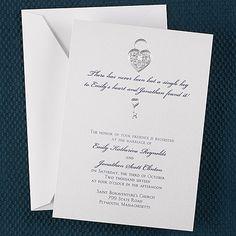 Key to My Heart - Invitation weddingneeds.carlsoncraft.com