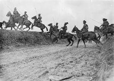 9th Hodson's Horse (Bengal Lancers), Indian Army, near Vraignes, April 1917. (Battle Of Arras)