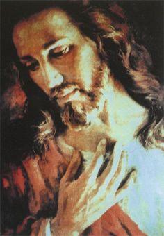 Jesus Christ God the Father Holy Spirit Image Jesus, Jesus Christ Images, Catholic Art, Religious Art, Religious Paintings, Jesus Photo, Jesus Painting, Jesus Christus, Jesus Face