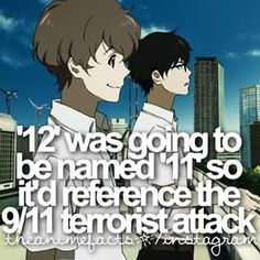 Zankyou no Terror | Facts