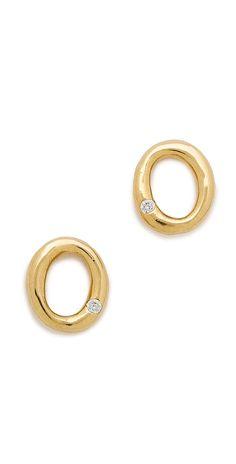 Tai Hollow Circle Earrings | SHOPBOP