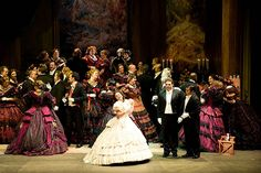 Little David on the set of Seattle Opera's production La Traviata.  (Rozarii Lynch photo)