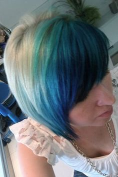 just bought more pravana blue today! soooo excited to use it