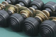 Edwardian wooden door knobs available with brass or nickel backs from Priors Period Ironmongery. http://www.priorsrec.co.uk/edwardian-ebonised-wood-door-knobs/p-3-22-94-475