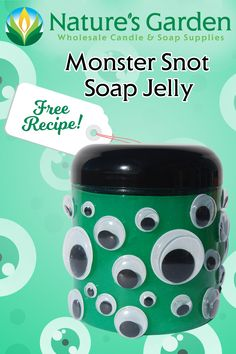 Free Monster Snot Soap Jelly Recipe by Natures Garden